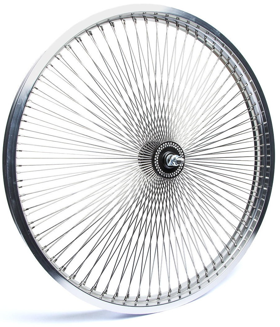 "26/"" Steel Chrome Wheelset 140 Spokes Coaster Brake Lowrider Cruiser Bikes"