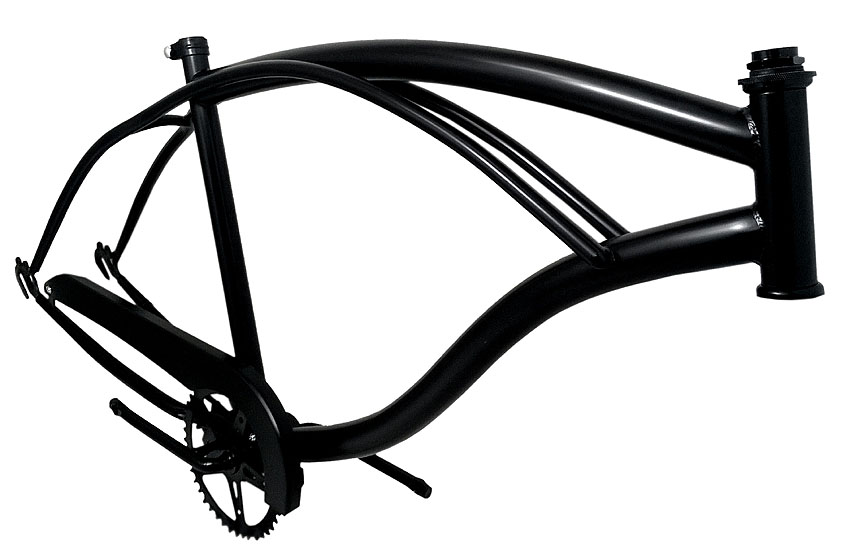 beachcruiser frame - click to enlarge the photo